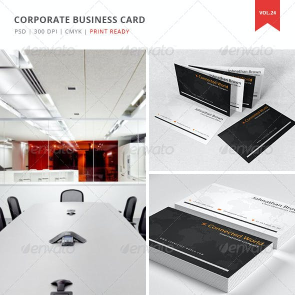 Corporate Business Card - Vol. 24