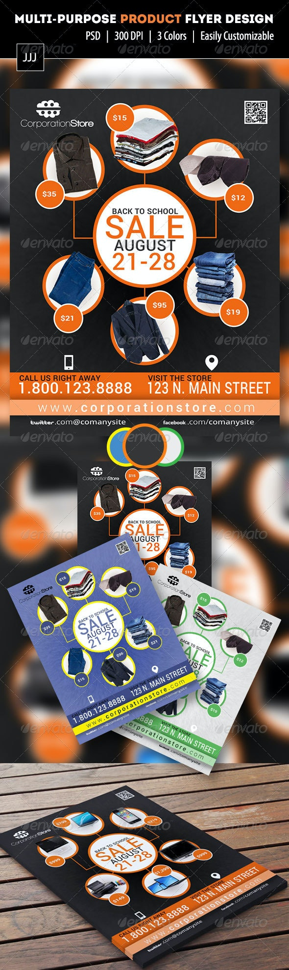 Multipurpose Product Flyer 1 - Commerce Flyers