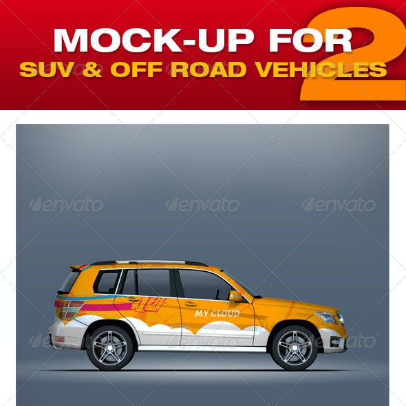 Mock-up For Suv & Off Road Vehicles 2