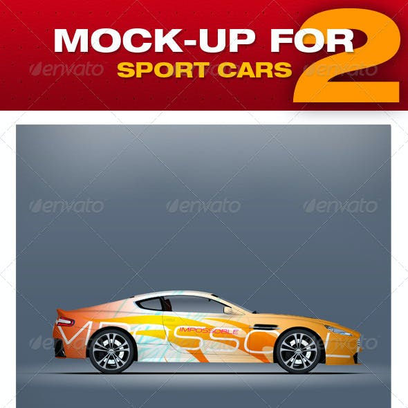 Mock-up For Sport Cars 2