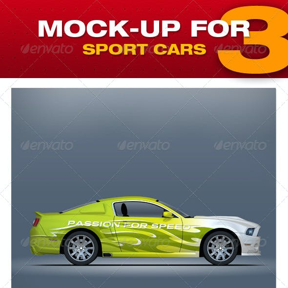 Mock-up For Sport Cars 3