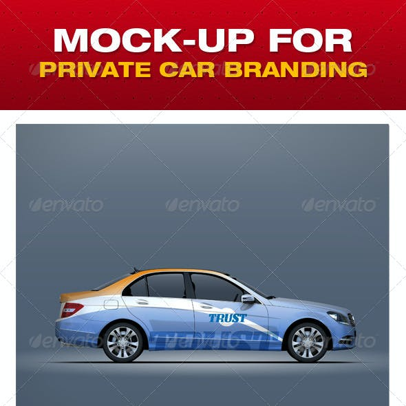 Mock-up For Private Car Branding