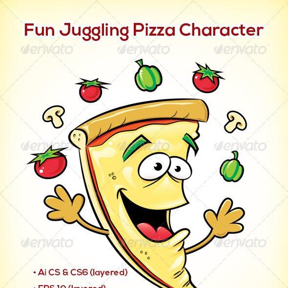 Pizza Slice Character