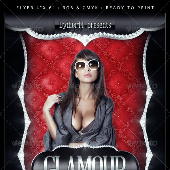 Glamour (Flyer Template 4x6)