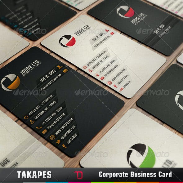 Takapes Business Card