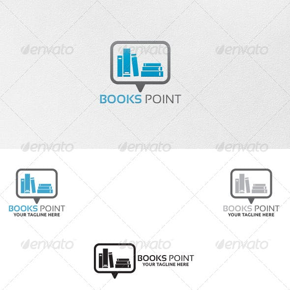 Books Point - Logo Template