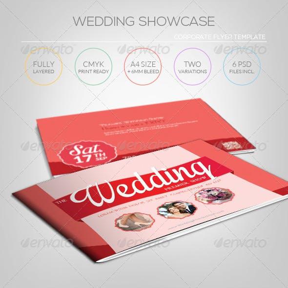 Wedding Showcase - Brochure Template