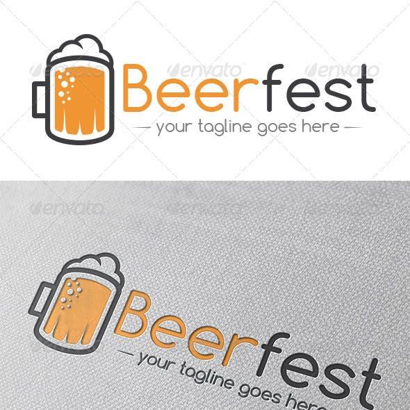 Beer Logo Template