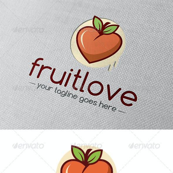 Fruit Love Logo Template