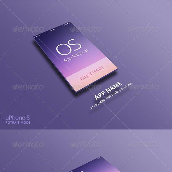 App Mockup for iPhone & iPad