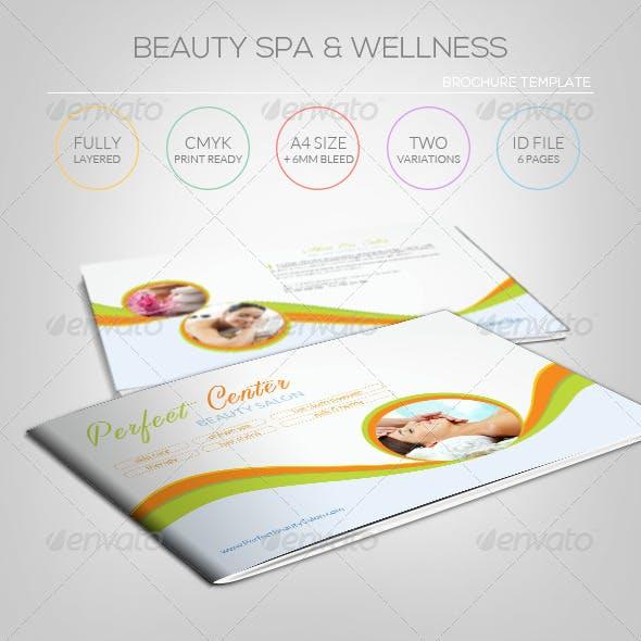 Beauty Spa & Wellness - Brochure Template
