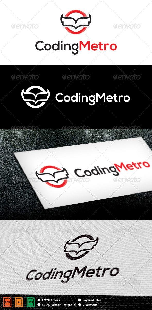 Coding Metro Logo Template