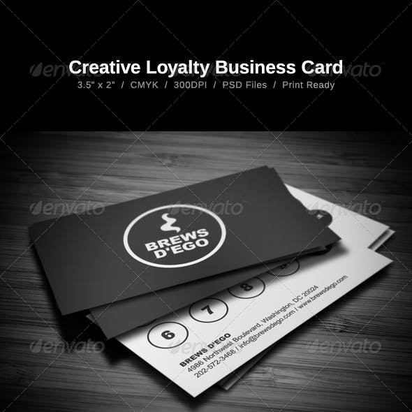 Creative Loyalty Business Card