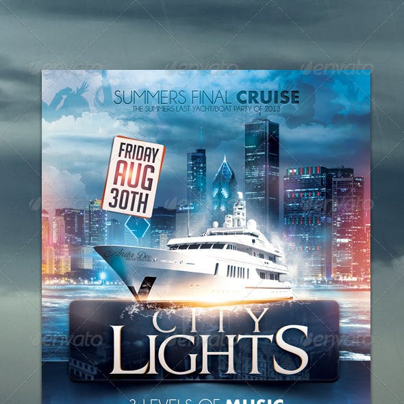 City Lights Boat Party