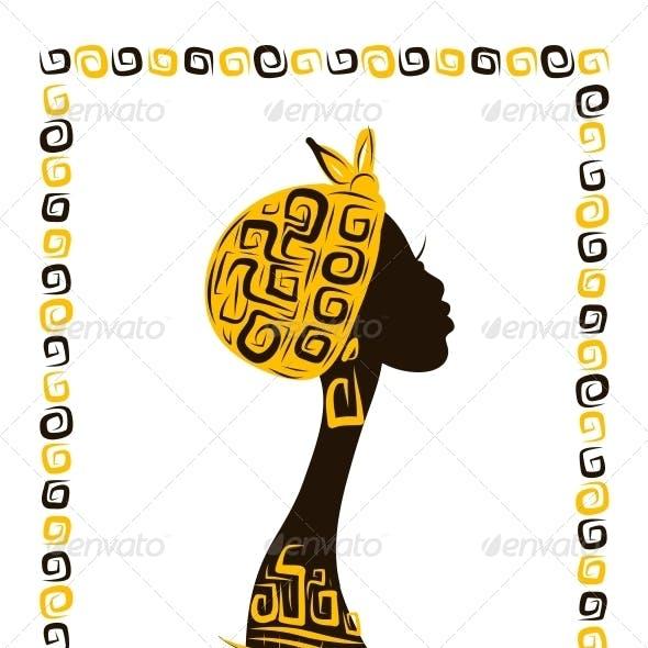 Female Head Silhouette