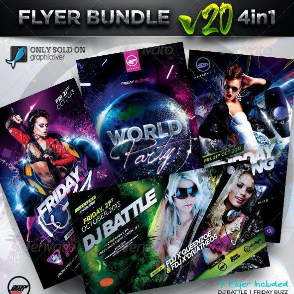 Flyer Bundle Vol20 - 4 in 1