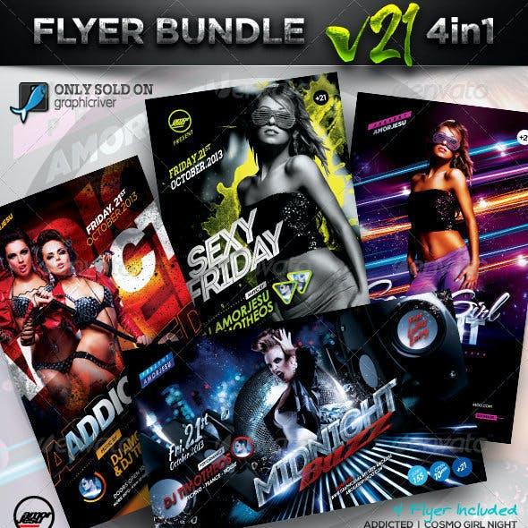 Flyer Bundle Vol21 - 4 in 1