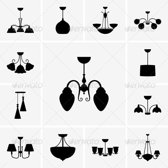 Chandelier Icons
