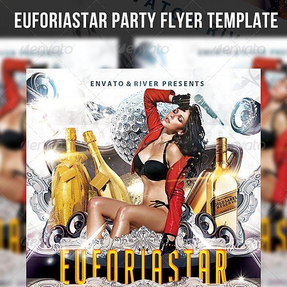 Euforia Star Flyer Template