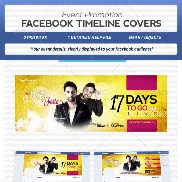 Facebook Event Promotion Covers