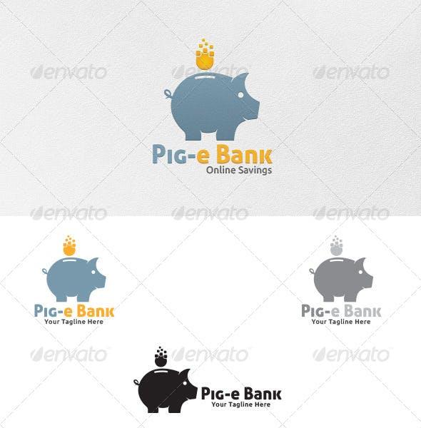 Piggy Bank Logo Template Animals Templates