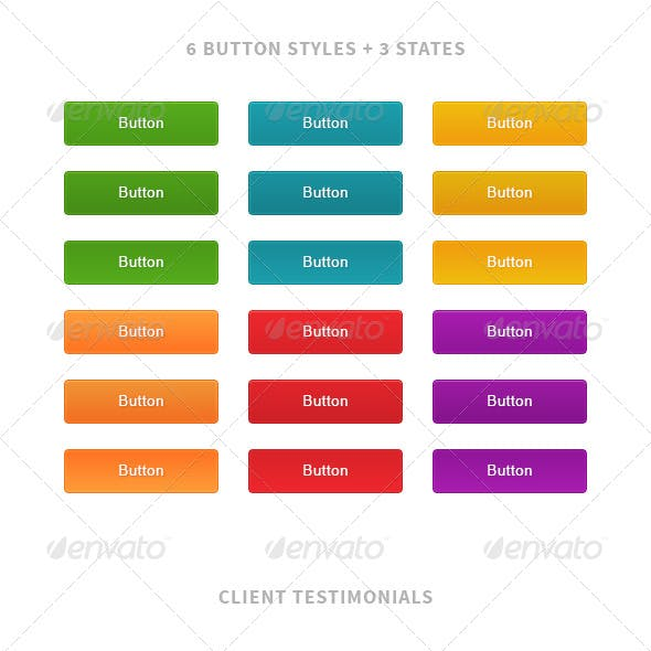 Web Buttons, Testimonials and Services