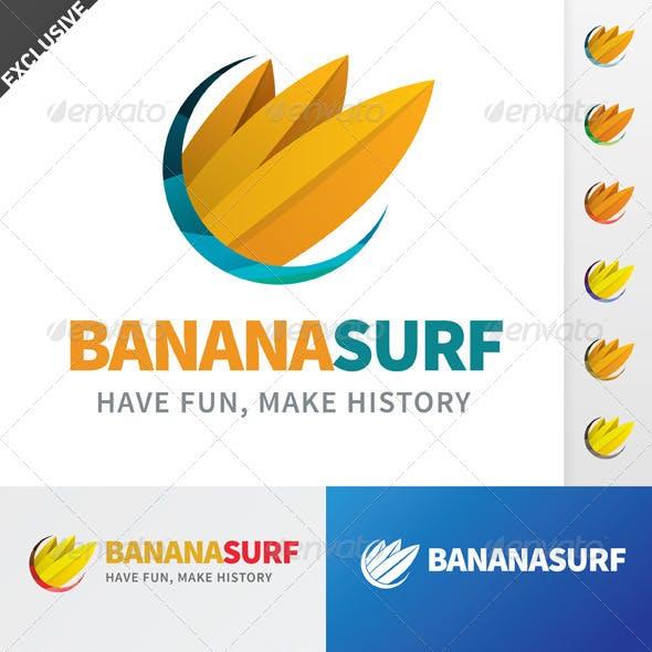 Banana Surf Logo
