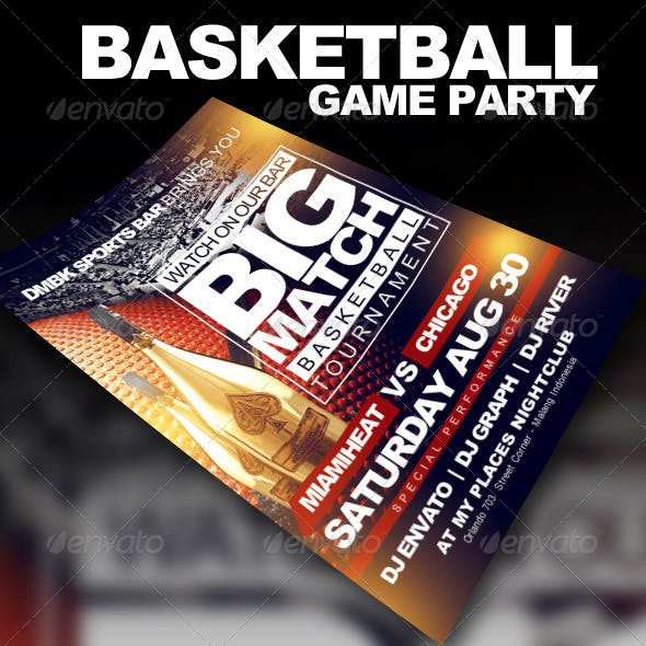 Basketball Game Party