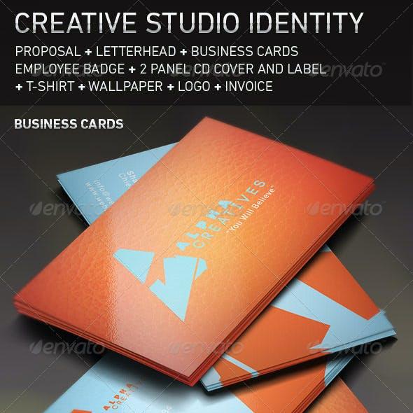Creative Studio Brand Identity Template