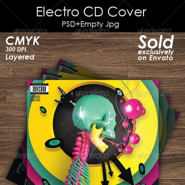 Electro CD Cover Artwork