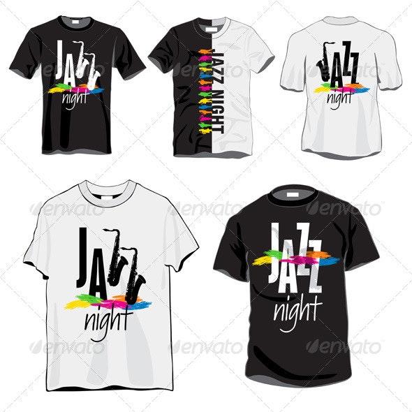 Jazz Night T-shirts Set - Miscellaneous Seasons/Holidays
