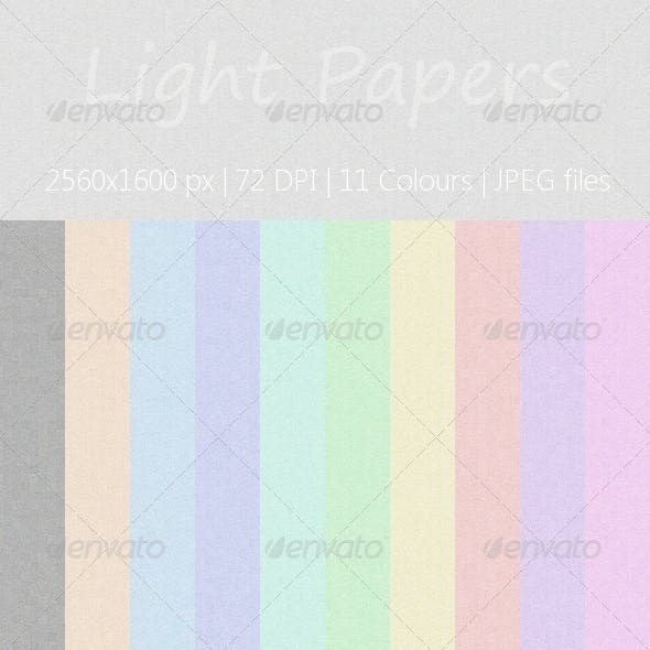 Light Paper Texture Pack