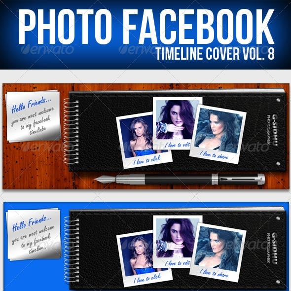 Photo Facebook Timeline Cover Vol.8