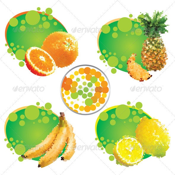 Tropical Fruit - Food Objects