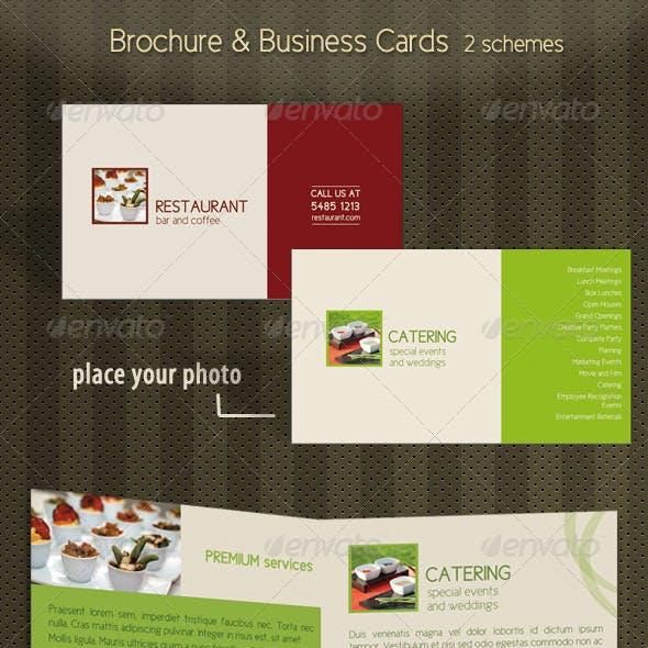 Brochure Business Card Stationary Mock-up