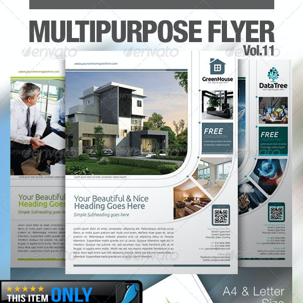 Multipurpose Business Flyer Vol.11