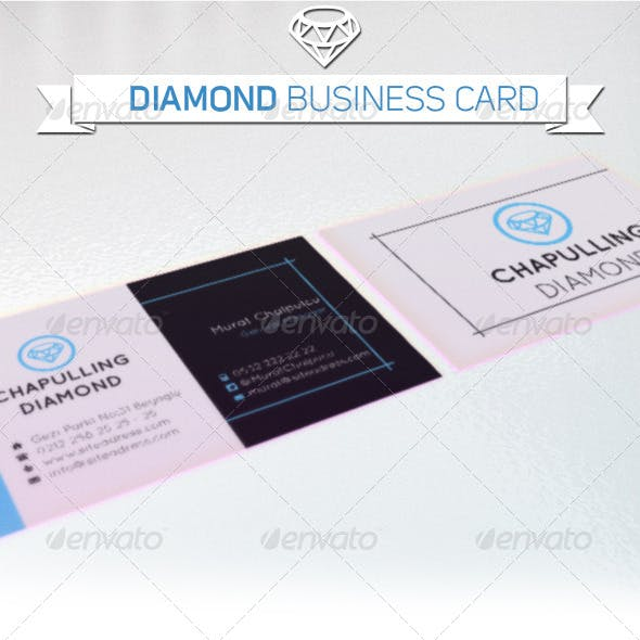 Business Card - Diamond Company