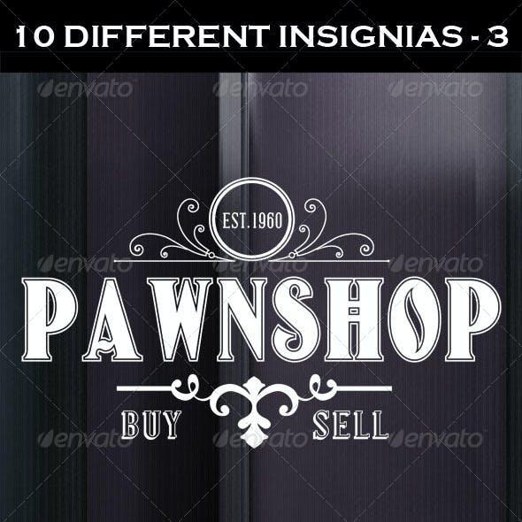 10 Retro Insignias