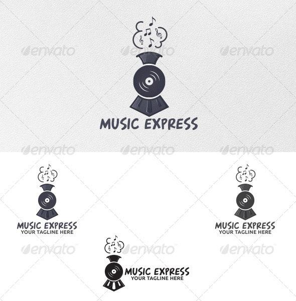 Music Express - Logo Template