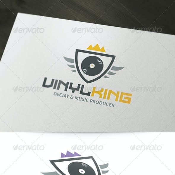 Vinyl King Logo