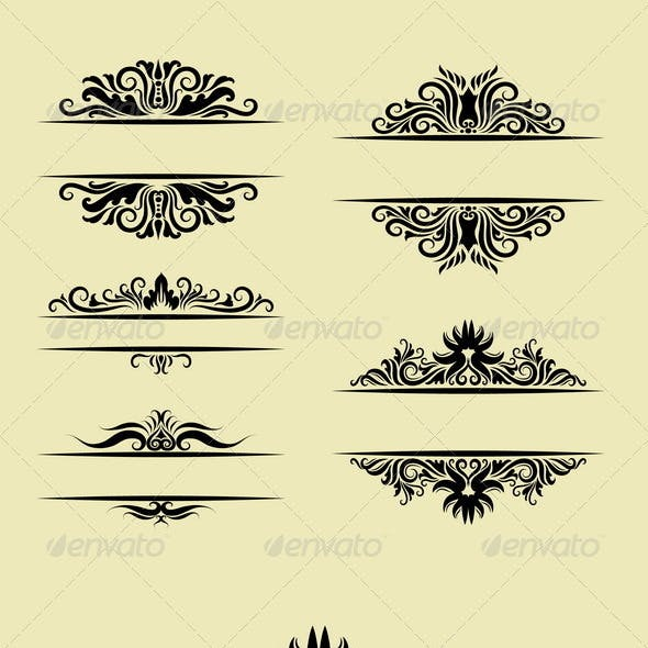 Floral Ornament Decorations