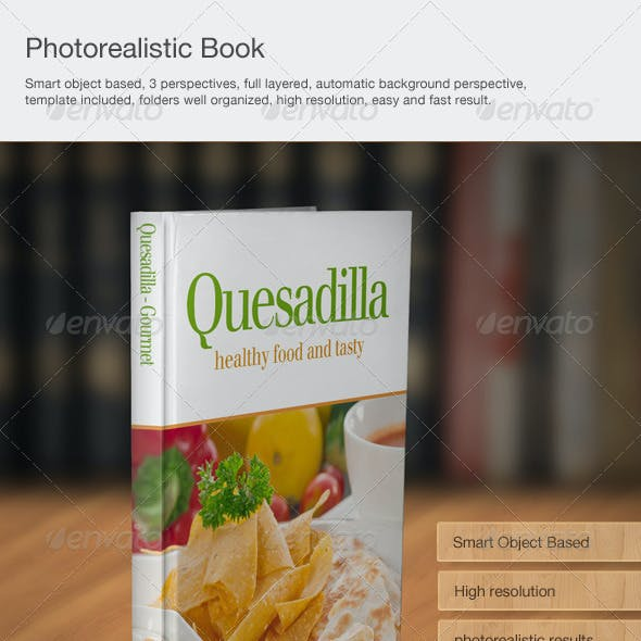 Photorealistic book