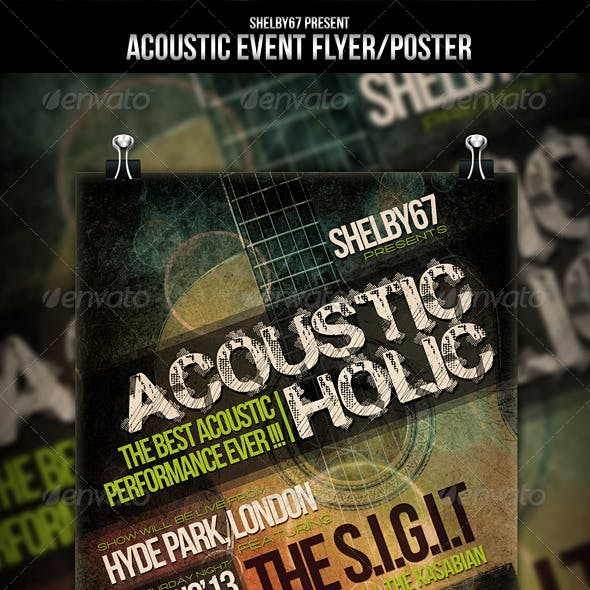 Acoustic Event Flyer / Poster
