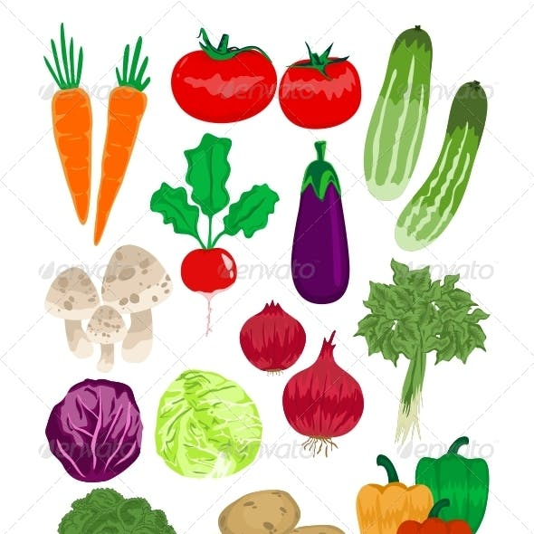 Vegetables Vector Pack