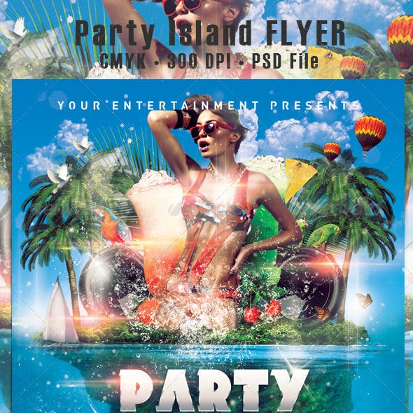 Party Island Flyer