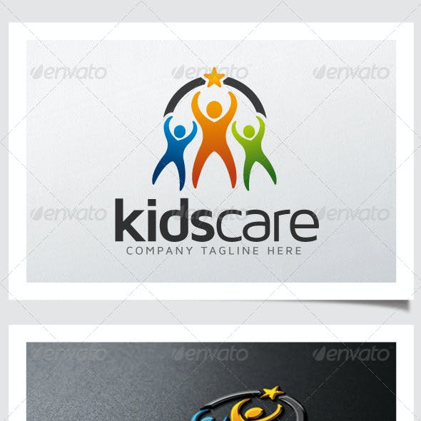 Kids Care Logo
