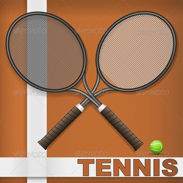 Clay Court and Rackets