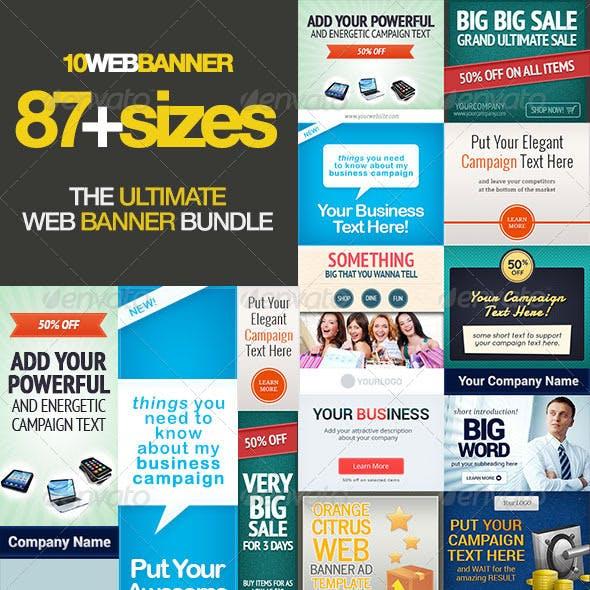 Ultimate Banner Ad Set Bundle Vol. 1