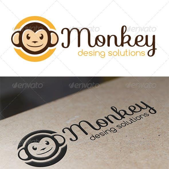 Monkey Logo Template