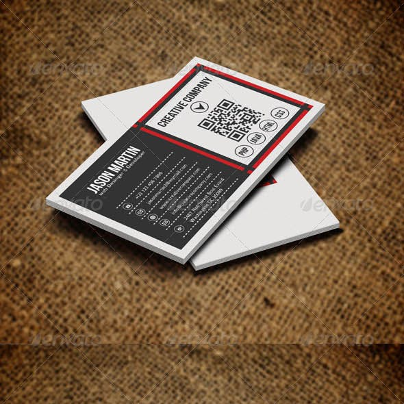 Simple Corporate Business Card v7